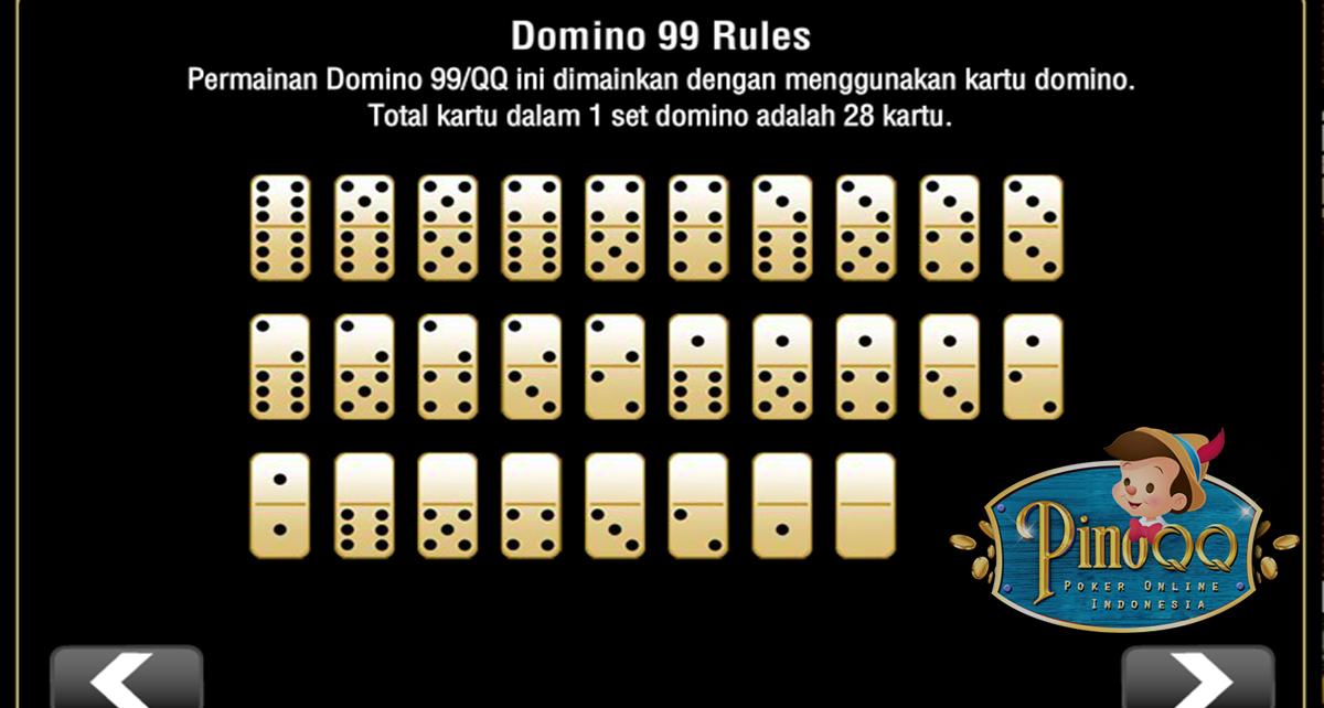 Panduan dan cara bermain domino99 PinoQQ