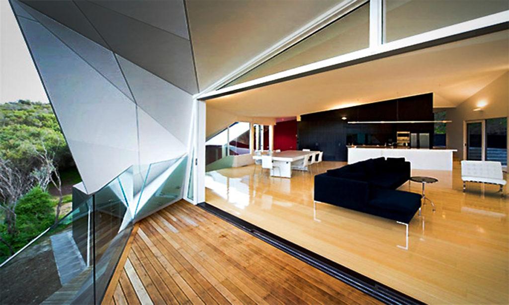 Rumah Modern Dengan Design Interior Futuristik