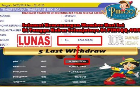 Deposit Minimal menang Besar di PinoQQ
