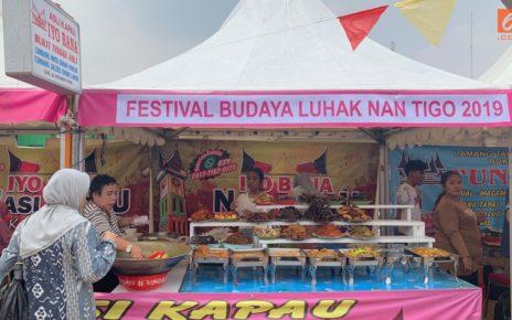 Berburu Nasi Kapau di Festival Budaya Luhak Nan Tigo