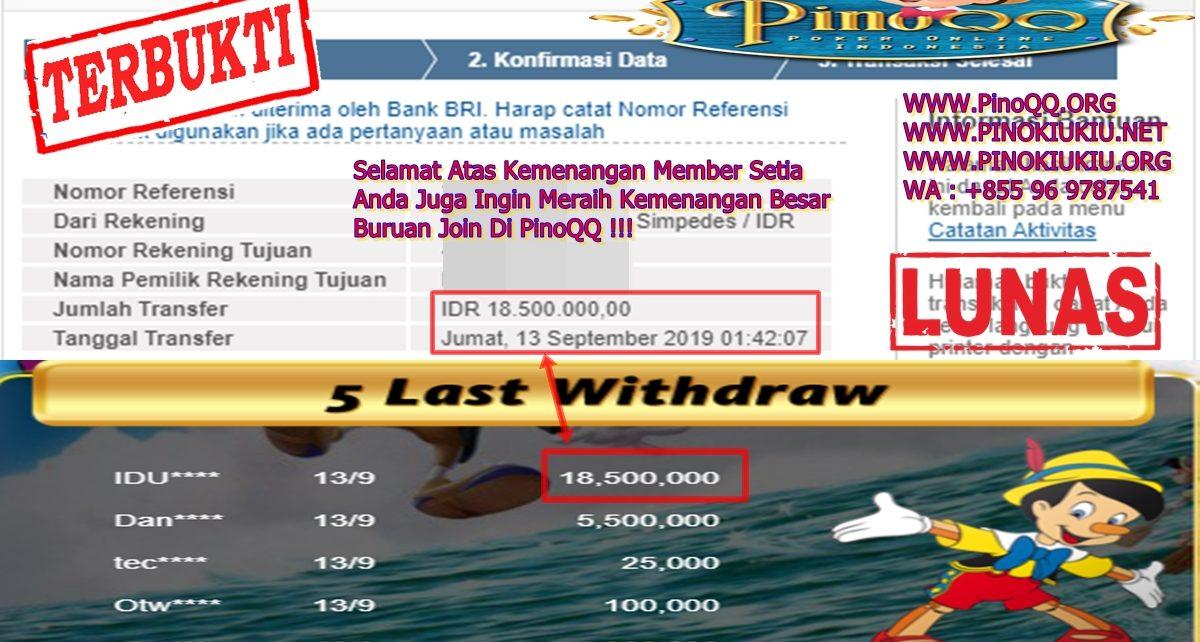 Ingin Meraih Kemenangan Besar Buruan Join Di PinoQQ
