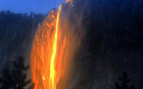 Air Terjun Api, Fenomena Alam Yang Menakjubkan dan Langka