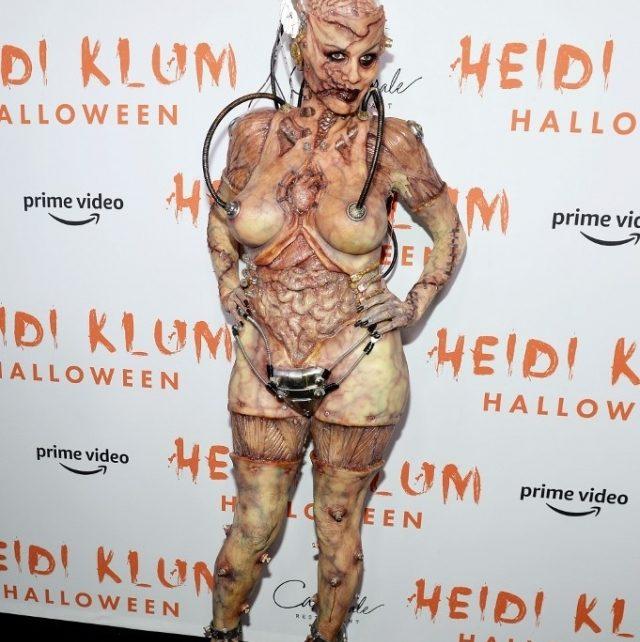 Tampilan Halloween Heidi Klum Ratu Pesta