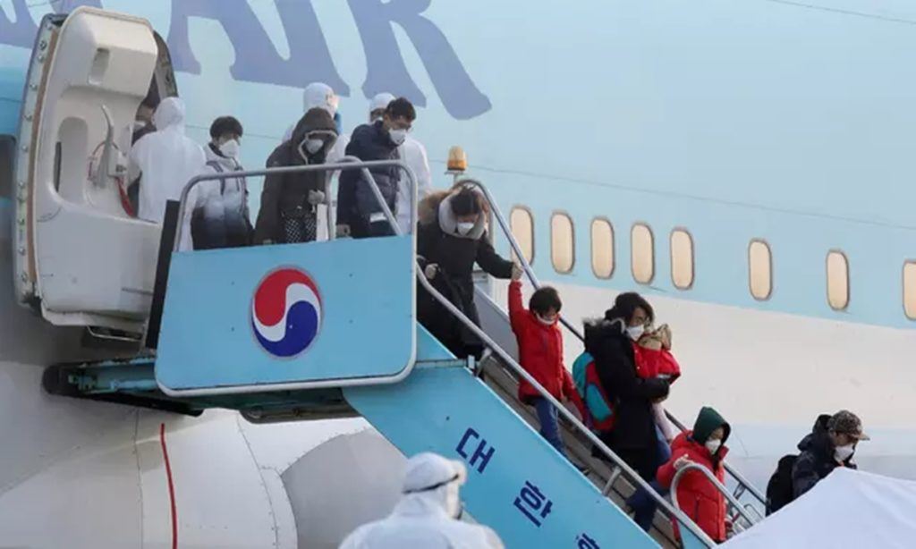 Jerman Evakuasi Warganya di Pusat Wabah Virus Corona Wuhan Pakai Pesawat Militer